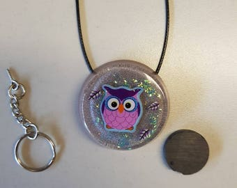 Resin magnet with OWL