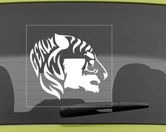 Free Shipping - Louisiana Decal, Tiger Decal, Auto Decal, Decal, Yeti Decal, Laptop Decal