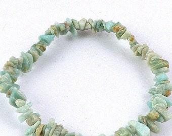 BAROQUE BRACELET AMAZONITE natural stone, amazonit, jewels, bracelet, natural stone aga23 amazonit amazonit