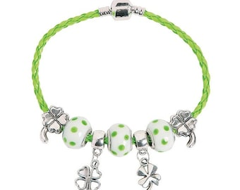 St. Patrick's Day Charm Bracelet