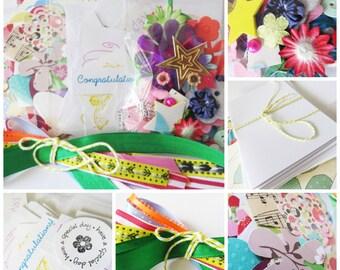 Card Making Kit for Girls & Boys, School Holidays Fun, Childrens Craft Activity, Kids Birthday Christmas Gift, Stocking Filler