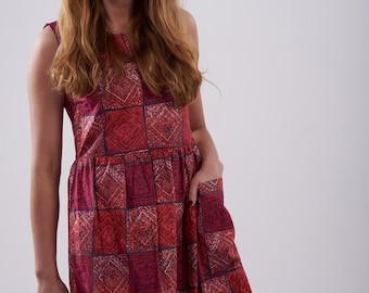 Vintage 1950's Handmade Pink Dress 12 - www.brickvintage.com