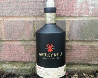 Whitley Neill gin bottle soap dispenser