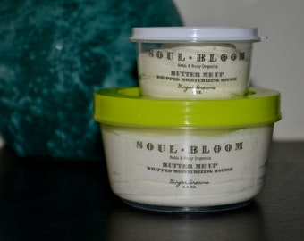 Whipped Body Butter - Ginger Dreams - Shea Butter - All Natural Lotion - Organic Moisturizer - Handmade - Body Mousse - Body Cream