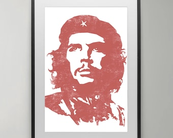 Che Guevara, Inspirational posters, Revolution, poster, Illustration, Art Print, Interior, Wall Decor, Instant Download, Home decor.