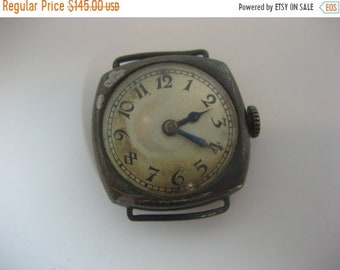ON SALE Rare Antique Concord Watch Sterling Silver