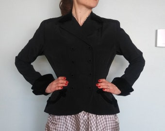 1940s R & K Original new look jacket // small medium