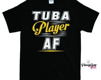 Tuba T Shirts | Tuba Player T shirt | Tuba Teacher Gift | Tuba Lover Gift | Musician Gift | Coolest Tuba Shirt | Best Tuba Shirt | Tuba Tee