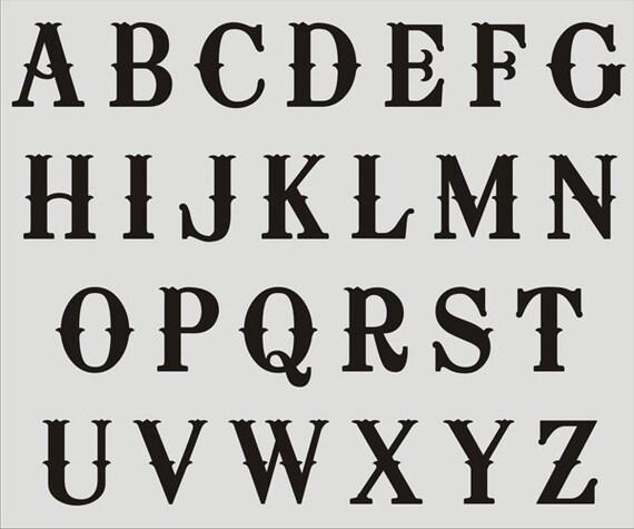 8 letter stencils