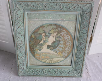 Painted frame- Free Shipping