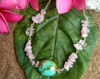 Turquoise Love Necklace