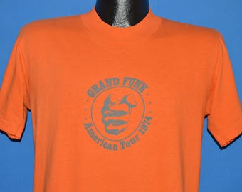 70s Grand Funk Railroad Shinin' On Capitol Records t-shirt Medium