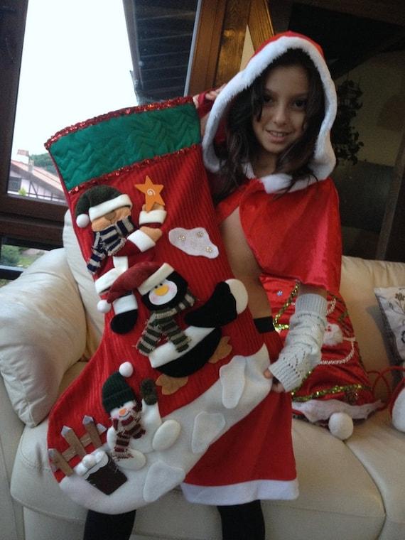 Large Christmas Stocking Personalized Stockings Xmas Sock
