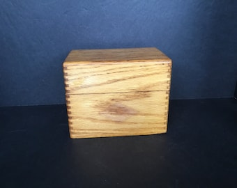 Dovetailed Wooden Box