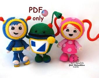 Amigurumi Nativity Español : Crochet amigurumi christmas holiday nativity pdf pattern from