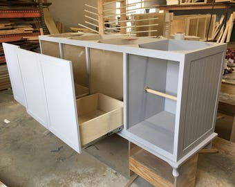 Laundry Room Cabinet & Storage, Utility Room Cabinets, Base Cabinets, Wall Cabinet, Slim - Narrow Storage Cabinets, Skaggs Creek Wood Shop