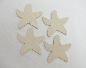 Starfish cutout set of 4