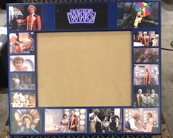 Doctor Who frame featuring 6th doctor.