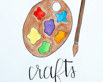 Crafts Painting