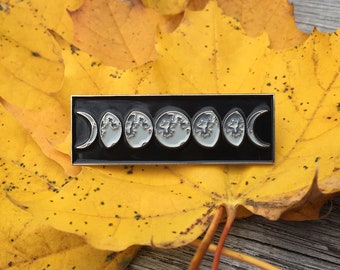 The Moon Phases pin
