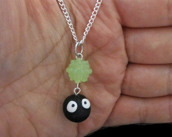 Choose your Color Konpeito Dustball Soot Sprite Studio Ghibli Anime Necklace