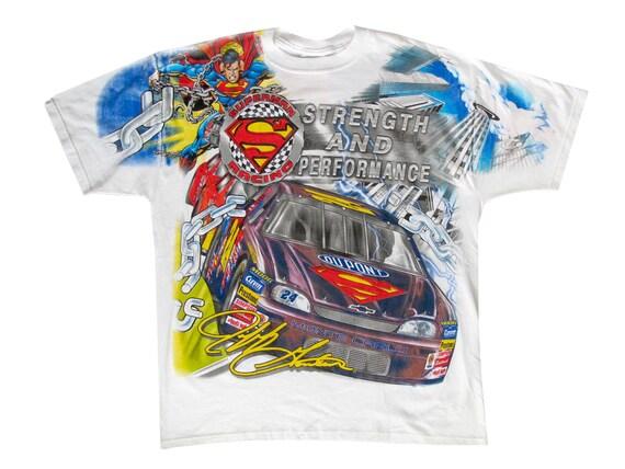 Superman Racing Jeff Gordon Nascar T-Shirt