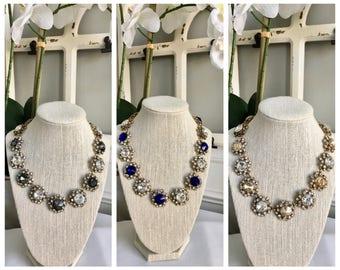 Vintage Inspired Statement Necklace