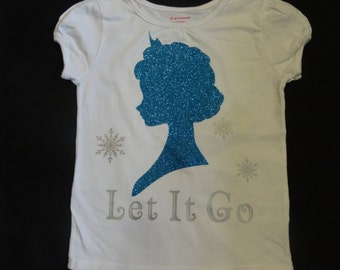 Elsa inspired shirt/onesie, Frozen Elsa shirt