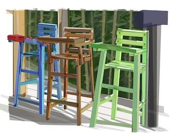 Periqueras (High Chairs)