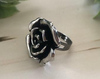 Statement Rose Ring