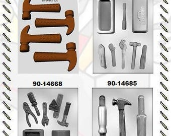 Construction Work Chocolate Molds (B)