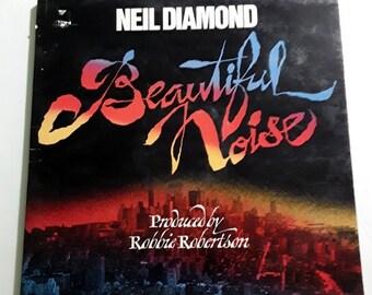Neil Diamond Beautiful Noise vinyl record 1976 release ColumbiaLabel 33965 vintage