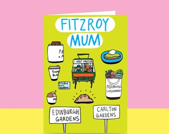 Mother's Day Card  - Fitzroy Mum