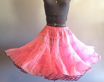 Vintage Pink Petticoat