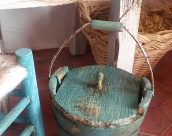 Bucket with lid scale 1/12