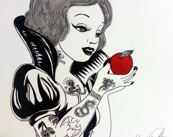 Rock & Roll Snow White