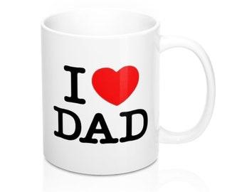Mug I Love Dad