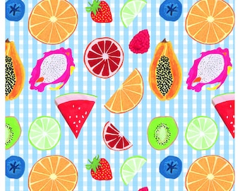 Summer Fruits Picnic Scarf
