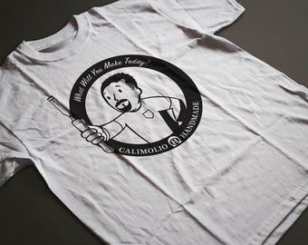 Calimolio Handmade Tshirt - Natural