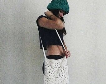 Stephanie - Large Boho Crochet Bag