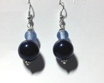 """Earrings """"Blue 4"""""""