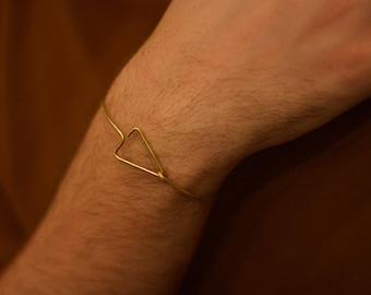 Bracelet • Triangle Clasp
