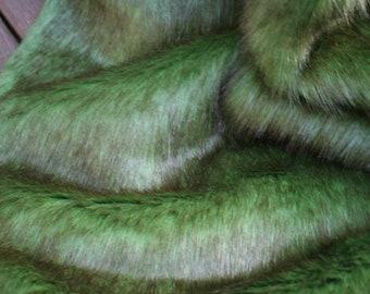 Mossy Rabbit Faux Fur Fabric