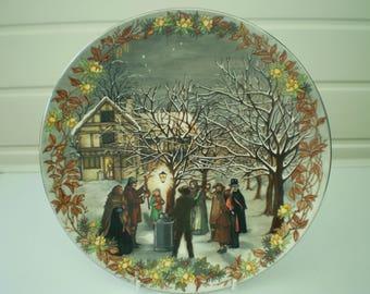 Wedgwood Fine Bone China Plate - Twelfth Night - Christmas - Farmers - Made in England