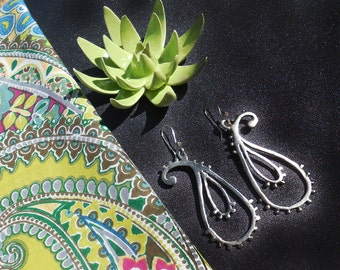 Bali Paisley Earrings