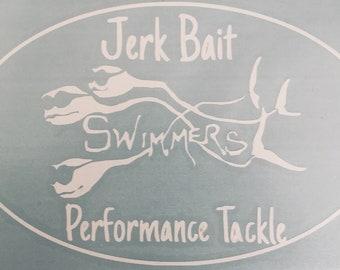 Jerk Bait Decal