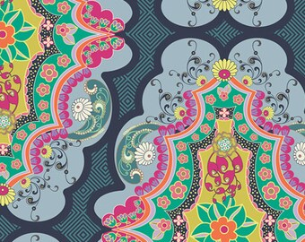 Brit Boutique Royal  (CST-3100) - CARNABY STREET by Patricia Bravo - Art Gallery Fabrics - By the Yard