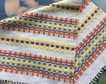 Table Runner Placemat Wall Hanging Hand Woven Made in Sweden