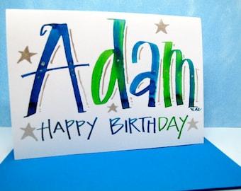 Name Card -Adam