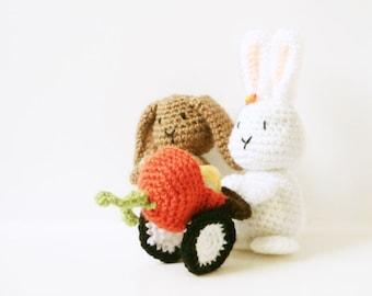 Crochet Bunny Pattern - Bunny - Rabbit - Easter Amigurumi